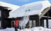 zaśnieżony dach